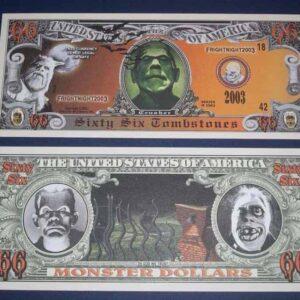 10 Dollari Mostruosi Originali da collezione (2003)