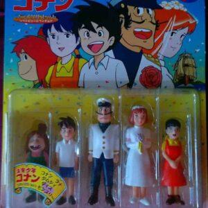 Conan il ragazzo del futuro 5pc Set Planet Toy – Raro