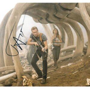 Fotografia Autografata da Tom Hiddleston, Kong: Skull Island