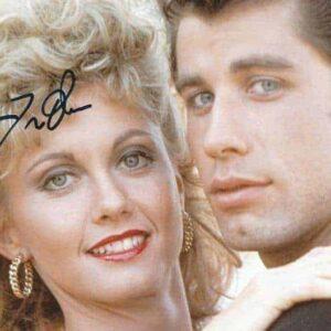 Fotografia autografata da John Travolta - Grease