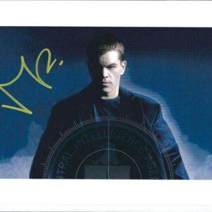 Fotografia autografata da Matt Damon - Jason Bourne