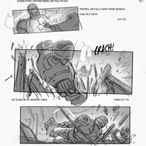 Iron Man 3 storyboard