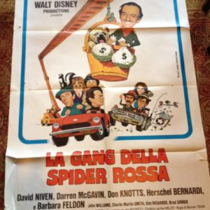 La-gang-della-spider-rossa-–-Walt-Disney-–-manifesto-originale-1976-809x1024