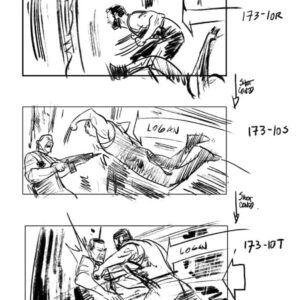 Logan - The Wolverine storyboard #2