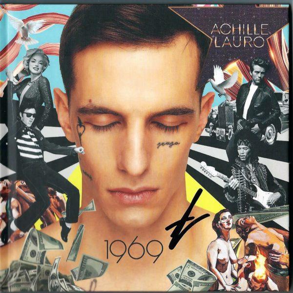 39712f42dd5fe0 Achille Lauro – 1969 – Hardcoverbook (cd Versione Limitata e Autografata)