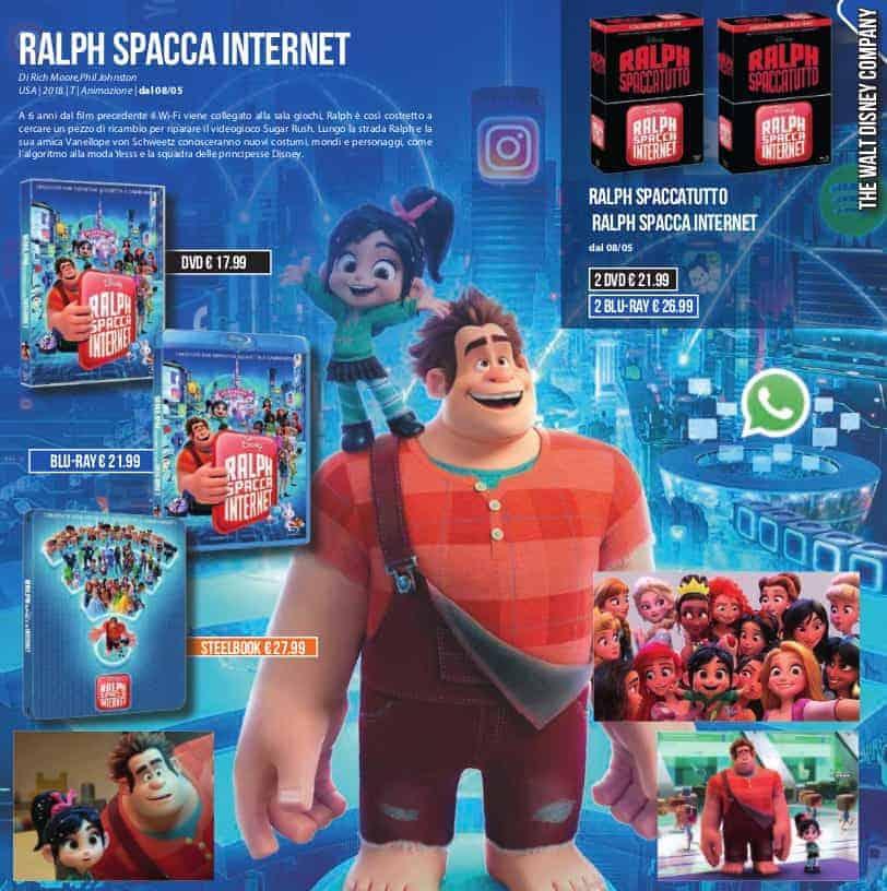 ralph spacca internet dvd  Ralph Spaccatutto + Ralph Spacca Internet (disponibile in dvd, blu ...
