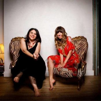 Michela Murgia e Chiara Tagliaferri