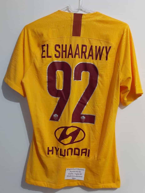 Stephan El Shaarawy Maglia n° 92 As Roma taglia M – HeartSocial ...