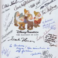 Disney Legends Autographs