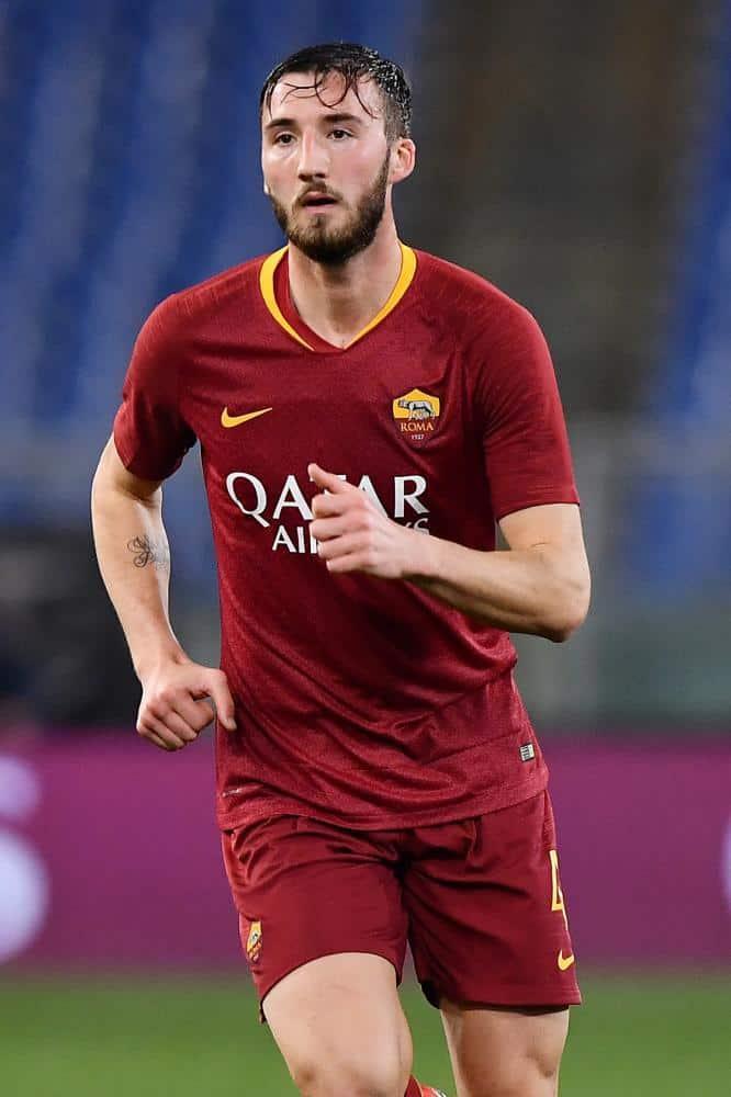 Bryan Cristante Pantaloncino n° 4 As Roma Match Worn taglia XL (indossato in gara)