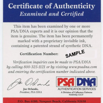 Ultimate Authentication: PSA DNA