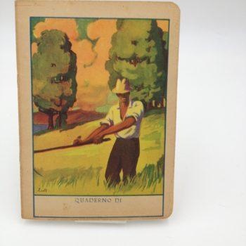 Quaderni Vintage dagli anni '20 agli anni '60